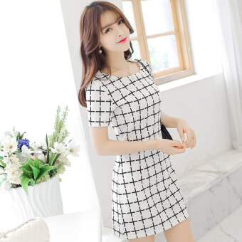 Harga Diana Korean-style color New style temperament dress