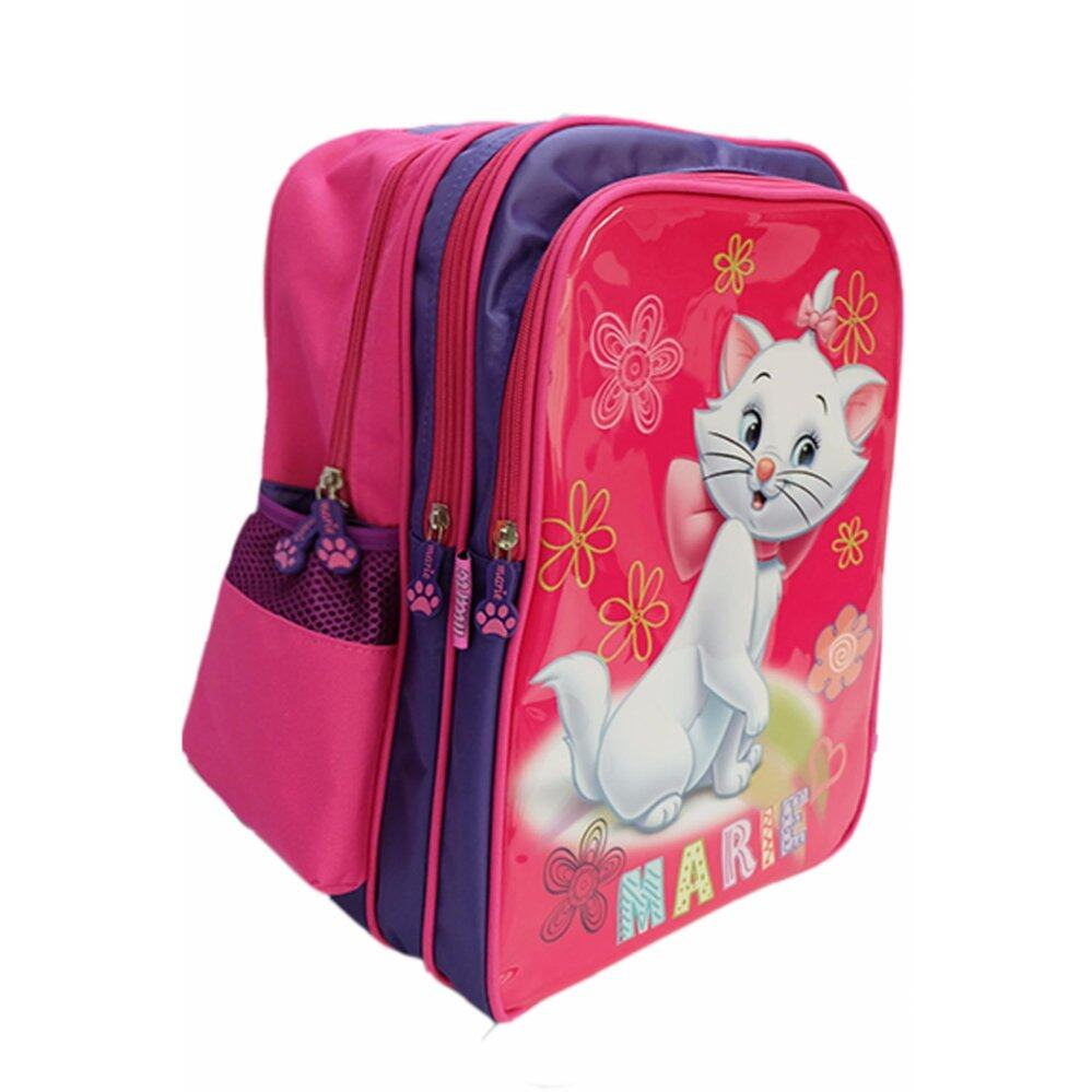 Disney Marie DMS1435 -16 inch Primary School Bag Pink (No Trolley)