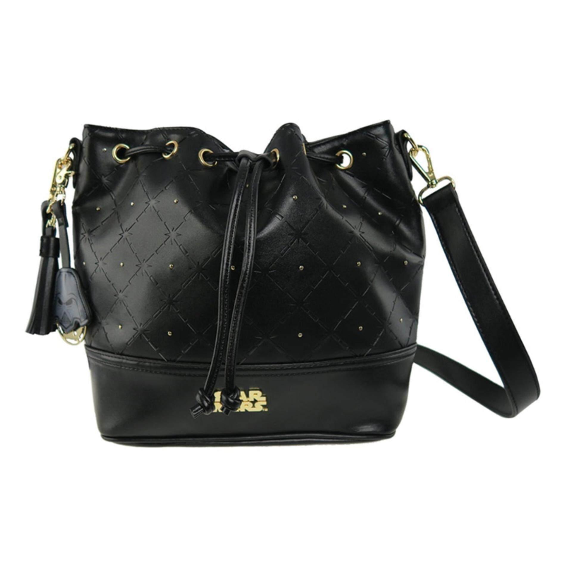 Disney Star Wars Adult Bucket Bag - Black Colour