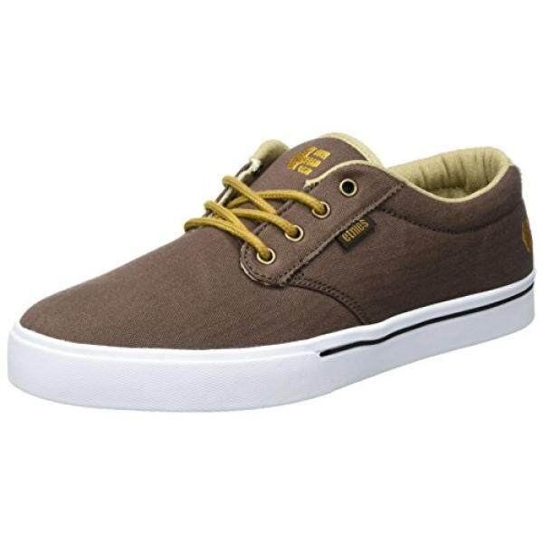[DNKR]Etnies Mens Jameson 2 Eco Skateboarding Shoe, Brown/Tan/White, 10 M US - intl