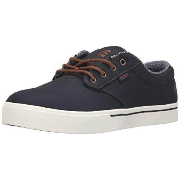 [DNKR]Etnies Mens Mens Jameson 2 Eco Shoe, Navy/Brown/White, 8.5 Medium US - intl