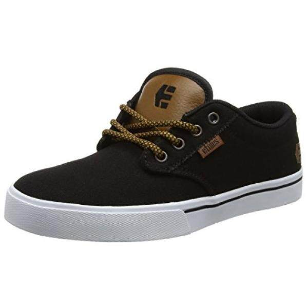 [DNKR]Etnies Mens Mens Jameson 2 Eco Skate Shoe, Black Raw, 12 Medium US - intl