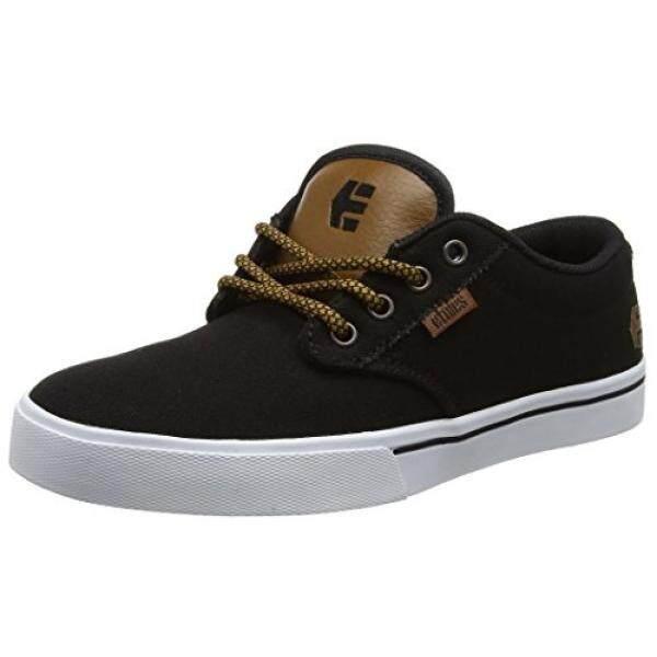 [DNKR]Etnies Mens Mens Jameson 2 Eco Skate Shoe, Black Raw, 8.5 Medium US - intl