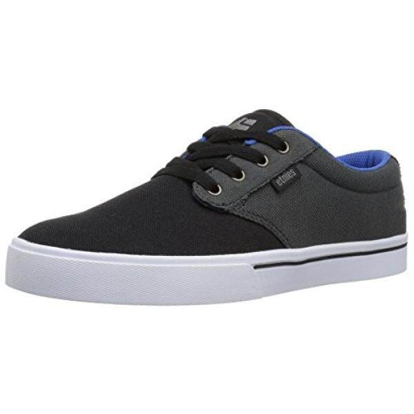 [DNKR]Etnies Mens Mens Jameson 2 Eco Skate Shoe, Black/Dark Grey/Royal, 9 Medium US - intl