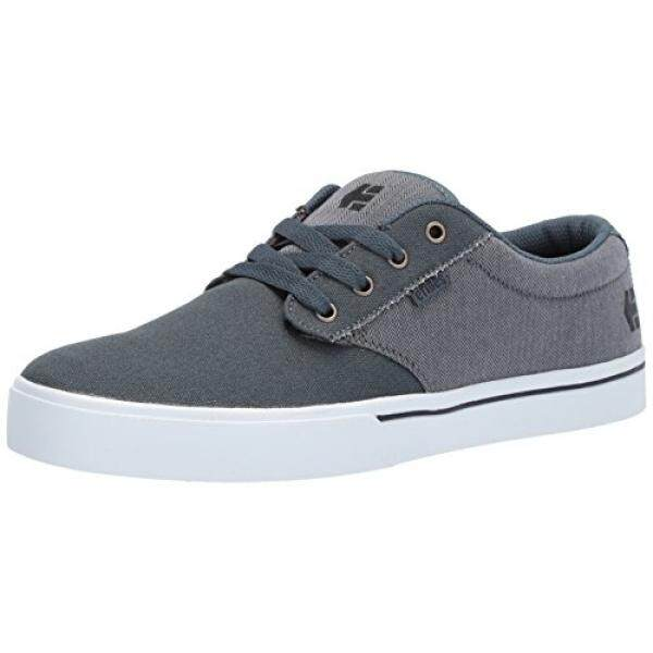[DNKR]Etnies Mens Mens Jameson 2 Eco Skate Shoe, Grey/Black/Silver, 9.5 Medium US - intl