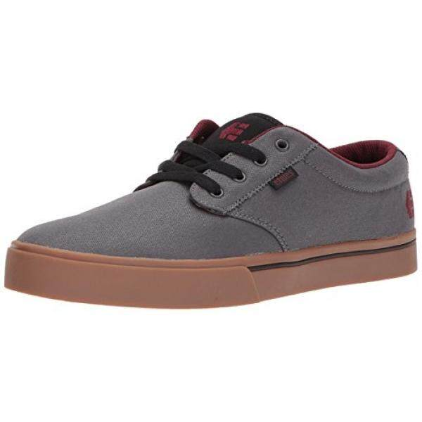 [DNKR]Etnies Mens Mens Jameson 2 Eco Skate Shoe, Grey/Gum/Red, 11.5 Medium US - intl