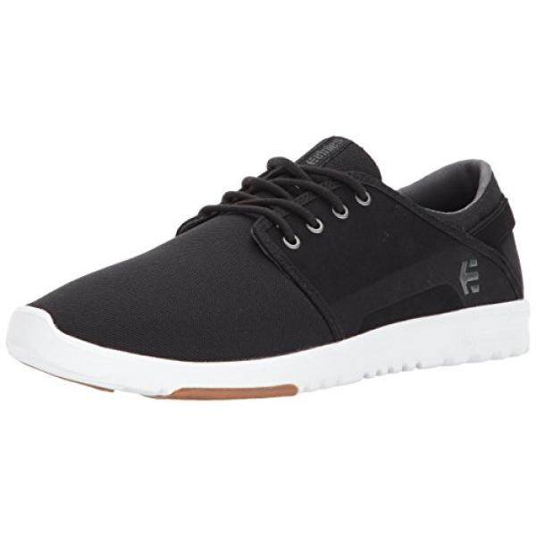 [DNKR]Etnies Mens Mens Scout Skate Shoe, Black/Charcoal/Gum, 10.5 Medium US - intl