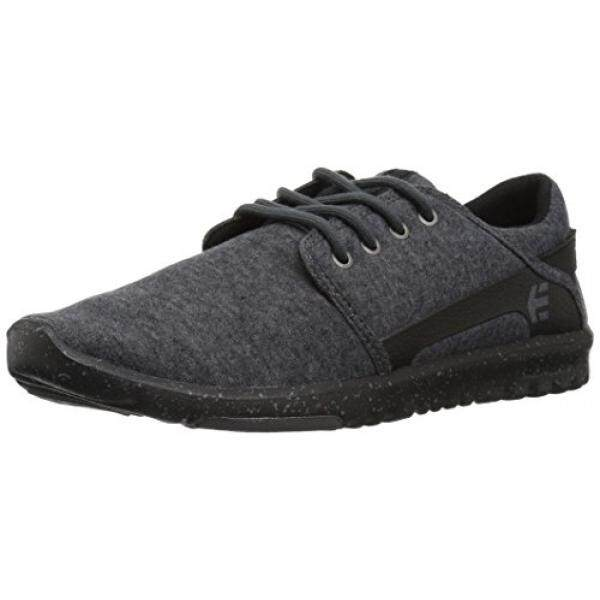 [DNKR]Etnies Mens Mens Scout Skate Shoe, Black/Grey/Silver, 12 Medium US - intl