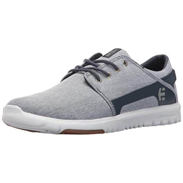 [DNKR]Etnies Mens Mens Scout Skate Shoe, Navy/Grey/Silver, 11 Medium US - intl