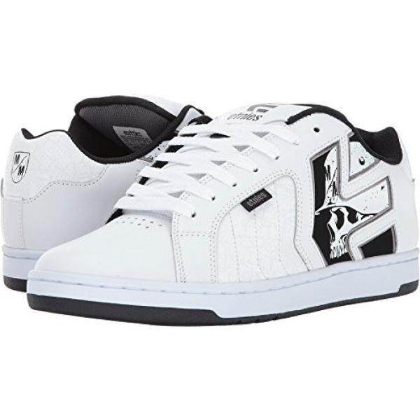 [DNKR]Etnies Mens Metal Mulisha Fader 2 White/Black/Grey Athletic Shoe - intl