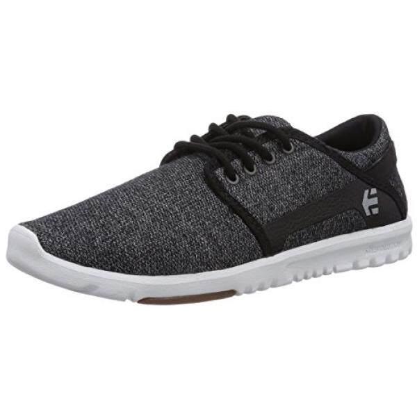 [DNKR]Etnies Mens Scout Skateboard Shoe, Black/White, 11 M US - intl