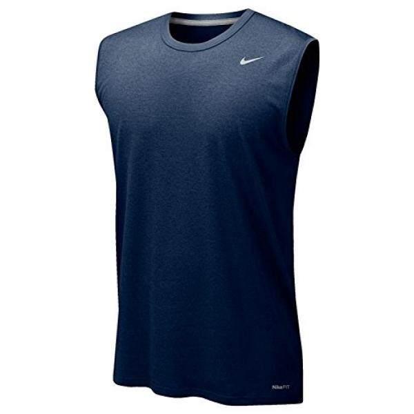 [DNKR]Mens Nike Legend Polyester Sleeveless T-Shirt (Cardinal)XXXLarge - intl