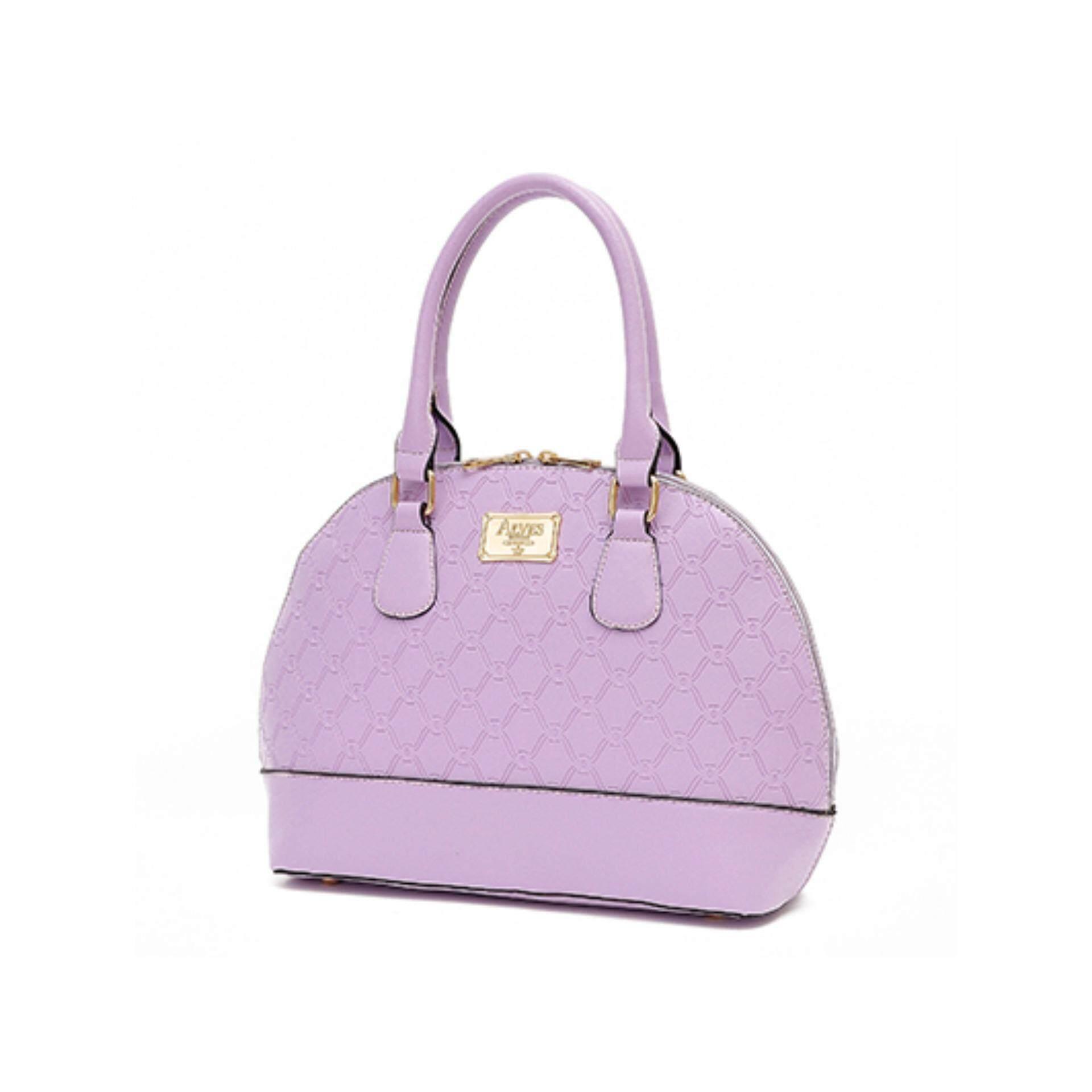 Eslene Alves AL3-565 Handbag-PURPLE