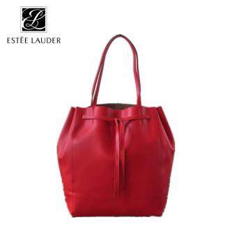 Harga Estee Lauder Waterproof Pumping shoulder Bag (Red)