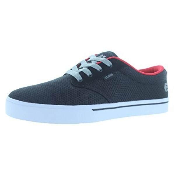 Etnies Mens Jameson 2 Eco Skateboarding Shoe, Black/White/Red, US - intl