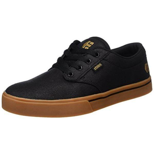 Etnies Mens Mens Jameson 2 Eco Skate Shoe, Black/Bronze, edium US - intl