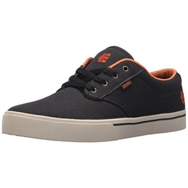 Etnies Mens Mens Jameson 2 Eco Skate Shoe, Navy/Orange, edium US - intl