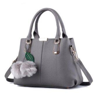 European Fashion Ladies Casual Shoulder Messenger Bag | Tote Bag |Backpack | Set Bag Collection - Light Grey