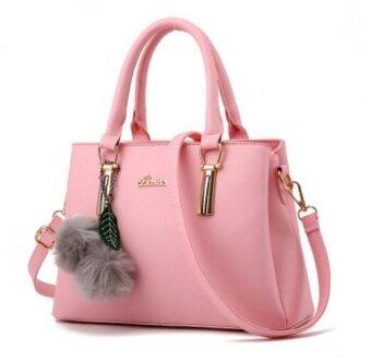 European Fashion Ladies Casual Shoulder Messenger Bag | Tote Bag |Backpack | Set Bag Collection - Rose