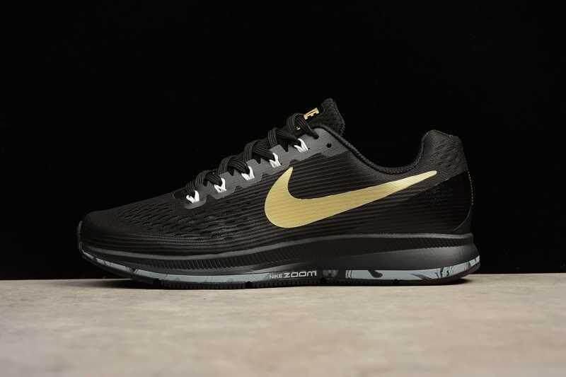 ... Modis Luar Ruangan Asli Udara ZOOM PEGASUS 34 Sepatu Kasual Pria Dapat Bersirkulasi Lari Sepatu Olahraga