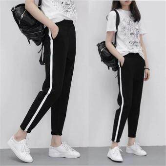 Harga Fashion Woman's Harem Pants Casual Jogger Dance HipHop Loose SlacksTrousers Sweatpants