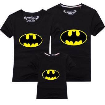 Harga Father Mother Daughter Son T-Shirt Outfit Family MatchingClothes(Mom Batman)