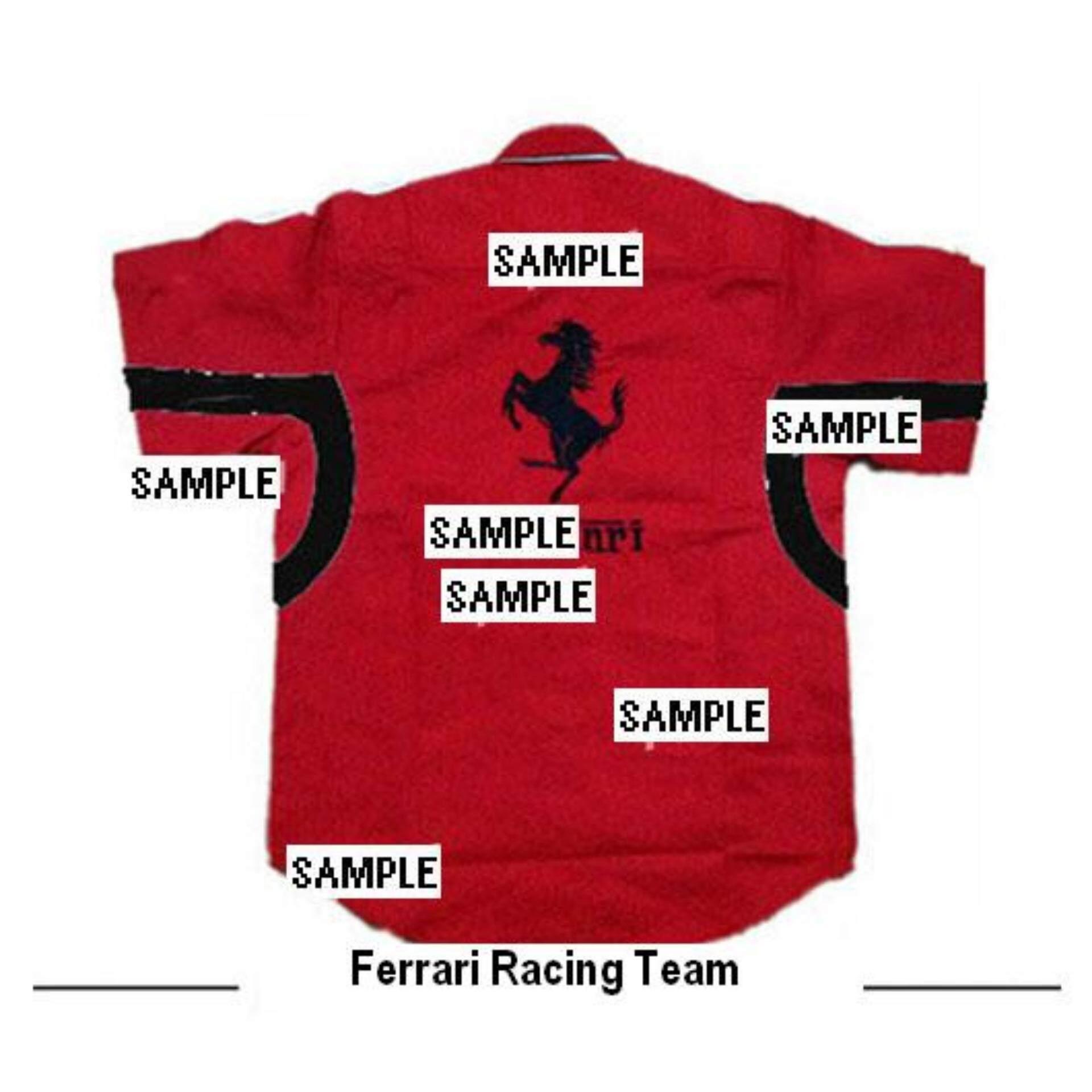 scuderia shirt sleeve logo be t e shirts en online ferrari short store replica official man