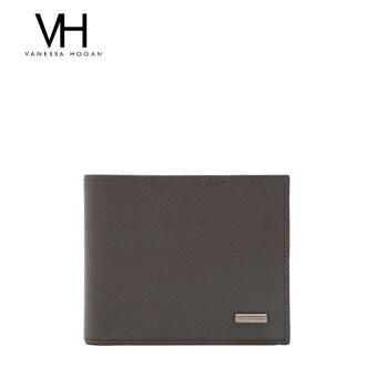 First layer of leather photo bit wallet men's bag (Khaki (02327))