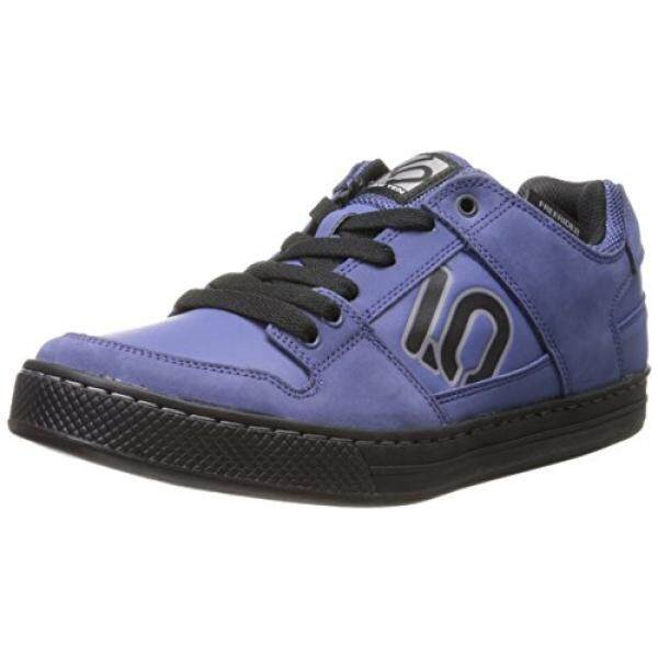 Five TEN Pria Freerider Elemen Sepeda Shoe, Angkatan Laut/Hitam, AS B00IDPNFWY-Internasional