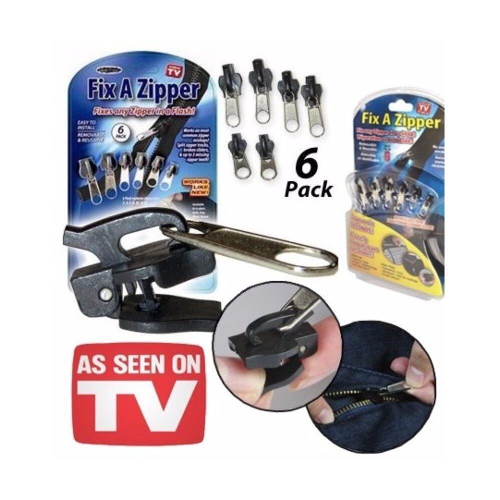 Fix A Zipper - Set of 6 Multi-functional Zipper Head Cloths Accessories