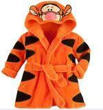 โปรโมชั่น Flannel Boy Or G*rl Kid S 85 135Cm Body Height Soft Bath Sleepwear Cplor Orange ใน จีน