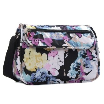 Harga Flower thousand bone women's flower cloth bag nylon bag