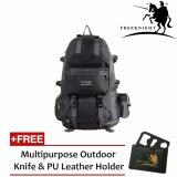 (RAYA 2019) Free Knight 50L Outdoor Hiking Backpack Black