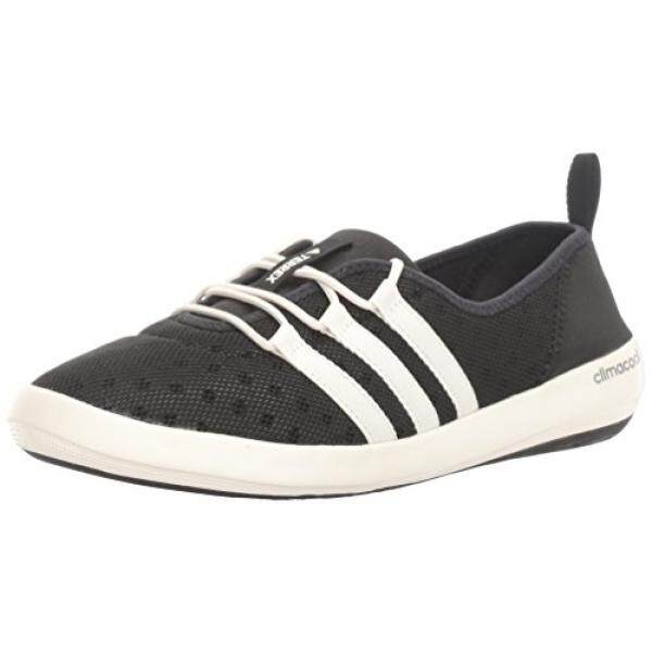 [From.USA]adidas Outdoor Womens Terrex Climacool Boat Sleek Water Shoe, Black/Chalk White/Matte Silver, 7.5 M US B01HNM5L4M - intl