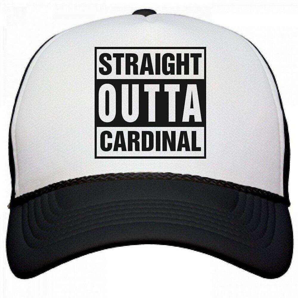 FUNNYSHIRTS.ORG Straight Outta Cardinal: Otto Poly-Foam Snapback Trucker Hat - intl