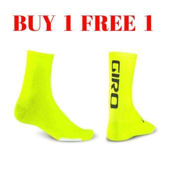 Harga GIRO HRC TEAM CYCLING SOCKS (Fluorescent Yellow)