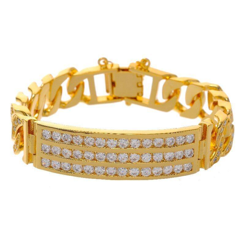 Emas Korea 24k Cop gi6 Golden Jaguar Fashion Bracelets  (24K Gold Plated)