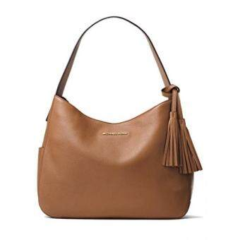 Harga GPL/ Michael Kors Ashbury Slouchy Shoulder Bag - Acorn/ship fromUSA