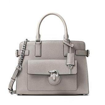 Harga GPL/ MICHAEL MICHAEL KORS Emma Saffiano Leather Satchel /ship fromUSA