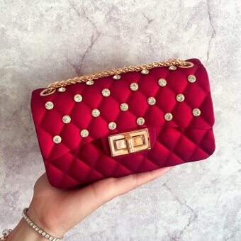 Fitur Tas Chanel Classic Mini Jelly Matte Channel Import 18cm 08sith ... 90012ee457
