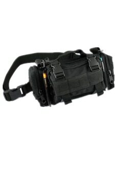 Hang-Qiao Tactical Military Camera Bag Shoulder Bag Pouch Multifunction Pockets Black