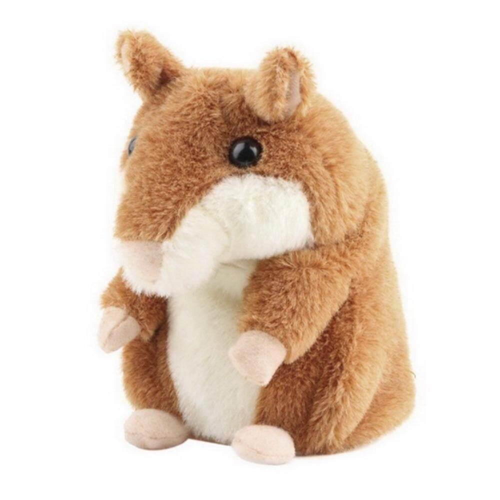 Hazyasm Premium Mimicry Berbicara Hamster Mainan, mengulangi Apa Yang Anda Katakan dan Rekaman Elektronik Mewah Buddy Mouse untuk Bayi dan Anak-anak Hadiah Ulang Tahun Hadiah Natal-Internasional