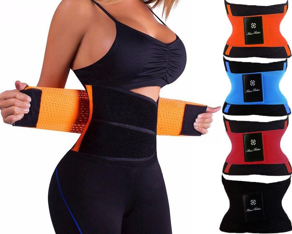 【High Quality - FAST DELIVERY】Hot Shaper Power Fitness Belt (red) - intl