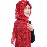 High Quality Muslimah Tudung Sarung Instant Shawl MU-26 [ RED ]