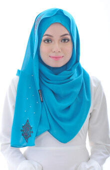 Hijab Fesyen Chenta Instant Shawl Turqoise