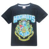 ซื้อ Hogwarts เด็กชาย 3 15 ปี 100 155 เซนติเมตรความสูงของผ้าฝ้ายเสื้อ สี สีดำ นานาชาติ ออนไลน์ จีน