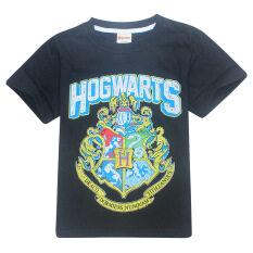 ส่วนลด Hogwarts เด็กชาย 3 15 ปี 100 155 เซนติเมตรความสูงของผ้าฝ้ายเสื้อ สี สีดำ นานาชาติ Kisnow