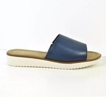 HUSH PUPPIES ABBY FLAT SANDALS BLUE