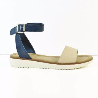 HUSH PUPPIES ABBY I FLAT SANDALS BLUE