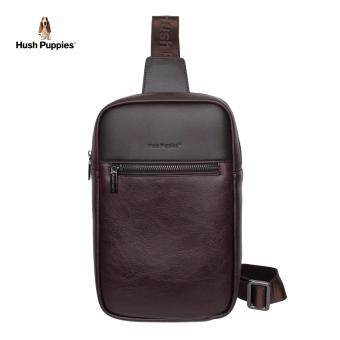 Hush Puppies Alvin Chest Bag (Dark Brown)